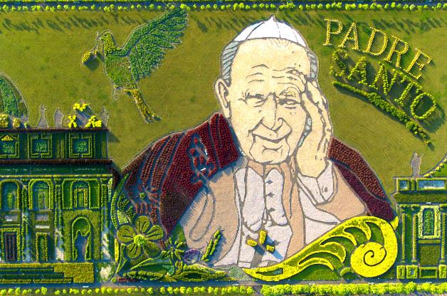 Ogród Jana Pawła II w Inwałdzie