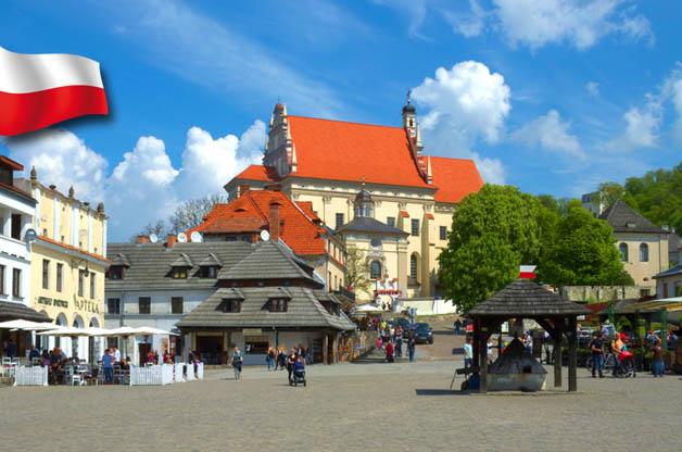 Kazimierz Dolny - Rynek