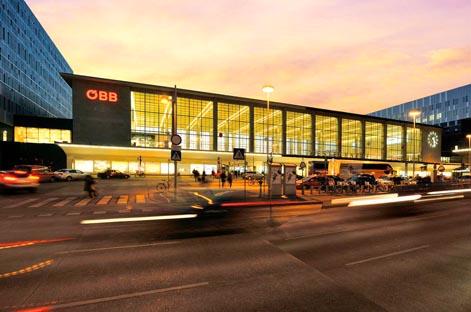Bahnhof City Wien West