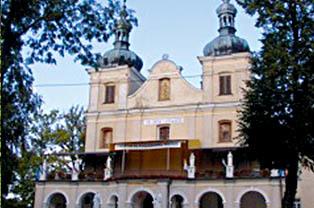 Sanktuarium w Kalwarii Pacławskiej