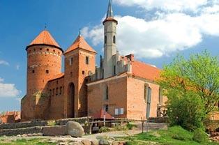 Zamek biskupów Warmińskich w Reszlu