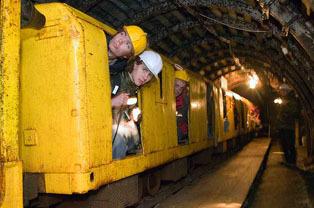 Podziemna Trasa Turystyczna Kopalni Węgla w Nowej Rudzie