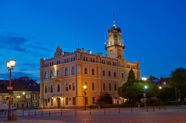 Kamienica Orsettich i Ratusz w Jarosławiu