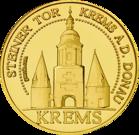 Front side Steiner Tor in Krems Golden Austria