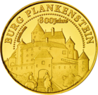 Front side Burg Plankenstein Golden Austria