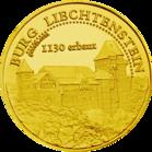 Front side Burg Liechtenstein Golden Austria