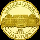 Front side Barockjuwel Schloss Halbturn Golden Austria
