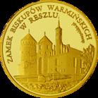 Front side Zamek biskupów Warmińskich w Reszlu Złota Warmia i Mazury
