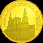 Front side Kościół OO. Bernardynów w Krakowie Złoty Kraków
