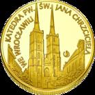 Front side Archikatedra św. Jana Chrzciciela we Wrocławiu Złoty Dolny Śląsk