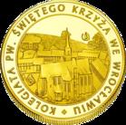 Front side Kolegiata Świętego Krzyża we Wrocławiu Złoty Dolny Śląsk