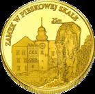 Front side Zamek Pieskowa Skała Oddział Zamku Królewskiego na Wawelu Złota Małopolska