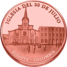 Front side Iglesia del 20 de julio Golden Columbia