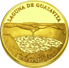 Front side Laguna de Guatavita Golden Columbia