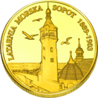 Front side Latarnia morska w Sopocie Złote Pomorze