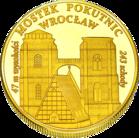 Front side Katedra św. Marii Magdaleny we Wrocławiu Złoty Dolny Śląsk