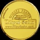 Back side of Liliputbahn Wiener Prater Golden Austria