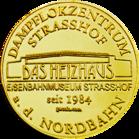 Back side of Eisenbahnmuseum Strasshof Golden Austria