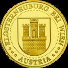 Back side of Essl Museum Klosterneuburg Golden Austria