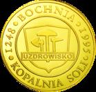 Back side of Kopalnia Soli w Bochni Szlak Jana Pawła II