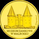 Back side of Muzeum Zamkowe w Malborku Złote Zamki i Pałace