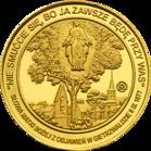 Back side of Sanktuarium Matki Bożej Gietrzwałdzkiej Szlak Jana Pawła II