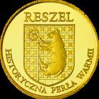 Back side of Zamek biskupów Warmińskich w Reszlu Złota Warmia i Mazury
