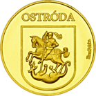 Back side of Kanał Elbląski - Ostróda Złota Warmia i Mazury