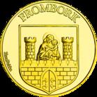 Back side of Wieża Wodna we Fromborku Złota Warmia i Mazury