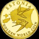 Back side of Tallinna Teletorn Goldenes Estonia