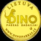 Back side of DINOZAUR PARK in Radailiai Goldenes Lithuania