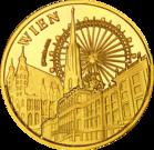 Front side Marionettentheather - Schloss Schönbrunn Golden Austria