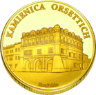 Front side Kamienica Orsettich i Ratusz w Jarosławiu Złote Podkarpackie