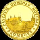 Back side of Frombork - Wzgórze Katedralne Złota Warmia i Mazury