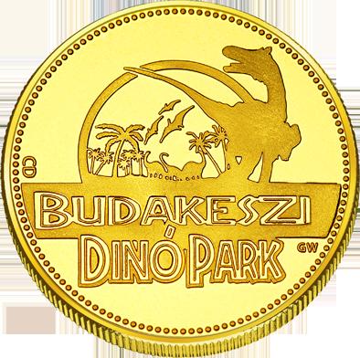 Front side Budakeszi Dinó Park Golden Hungary