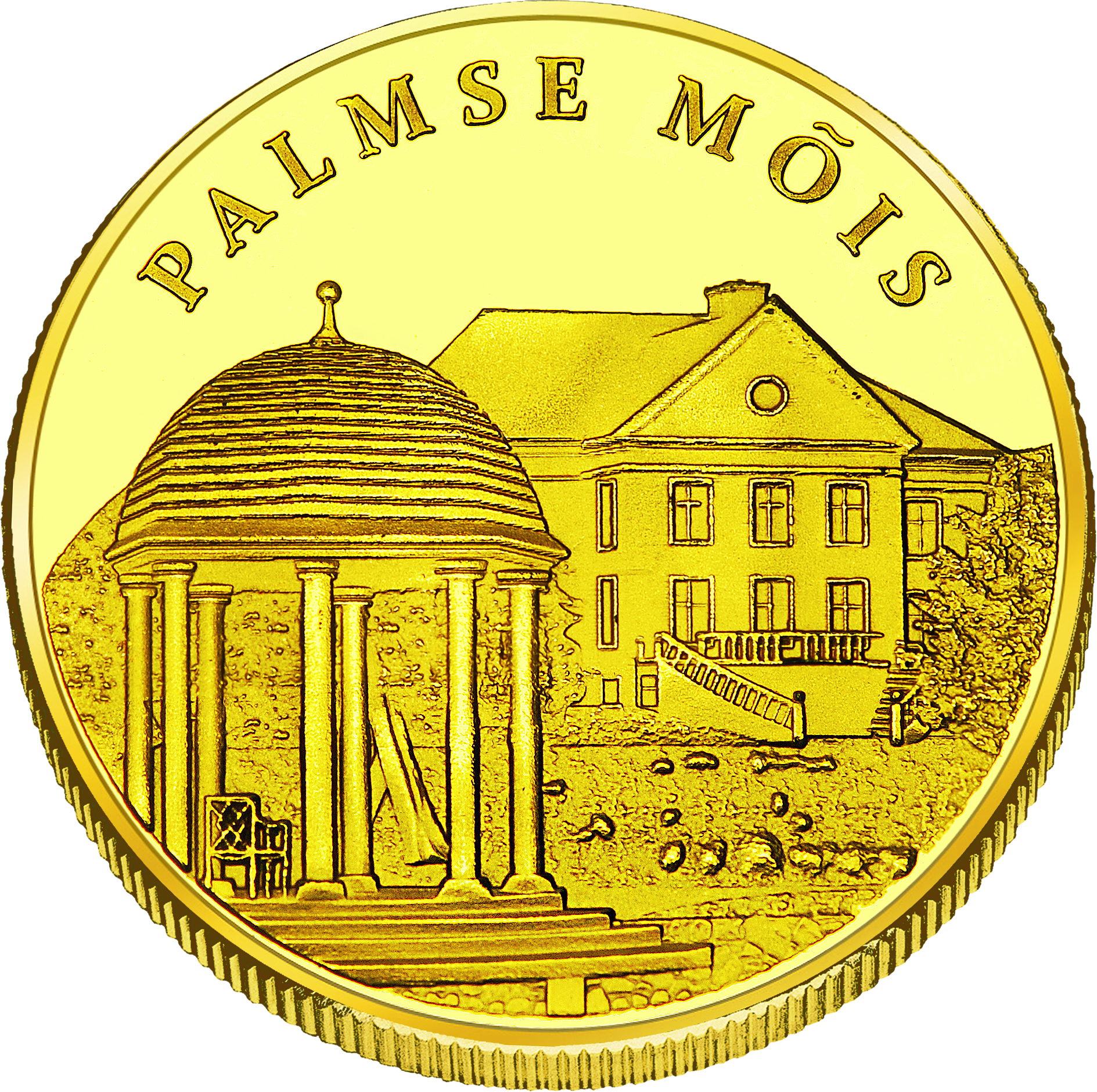 Front side Palmse mõis Goldenes Estonia