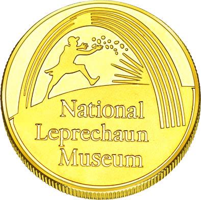 Front side National Leprechaun Museum Golden Ireland