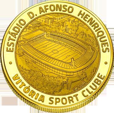 Front side Vitória sport clube Guimarães Golden Portugal