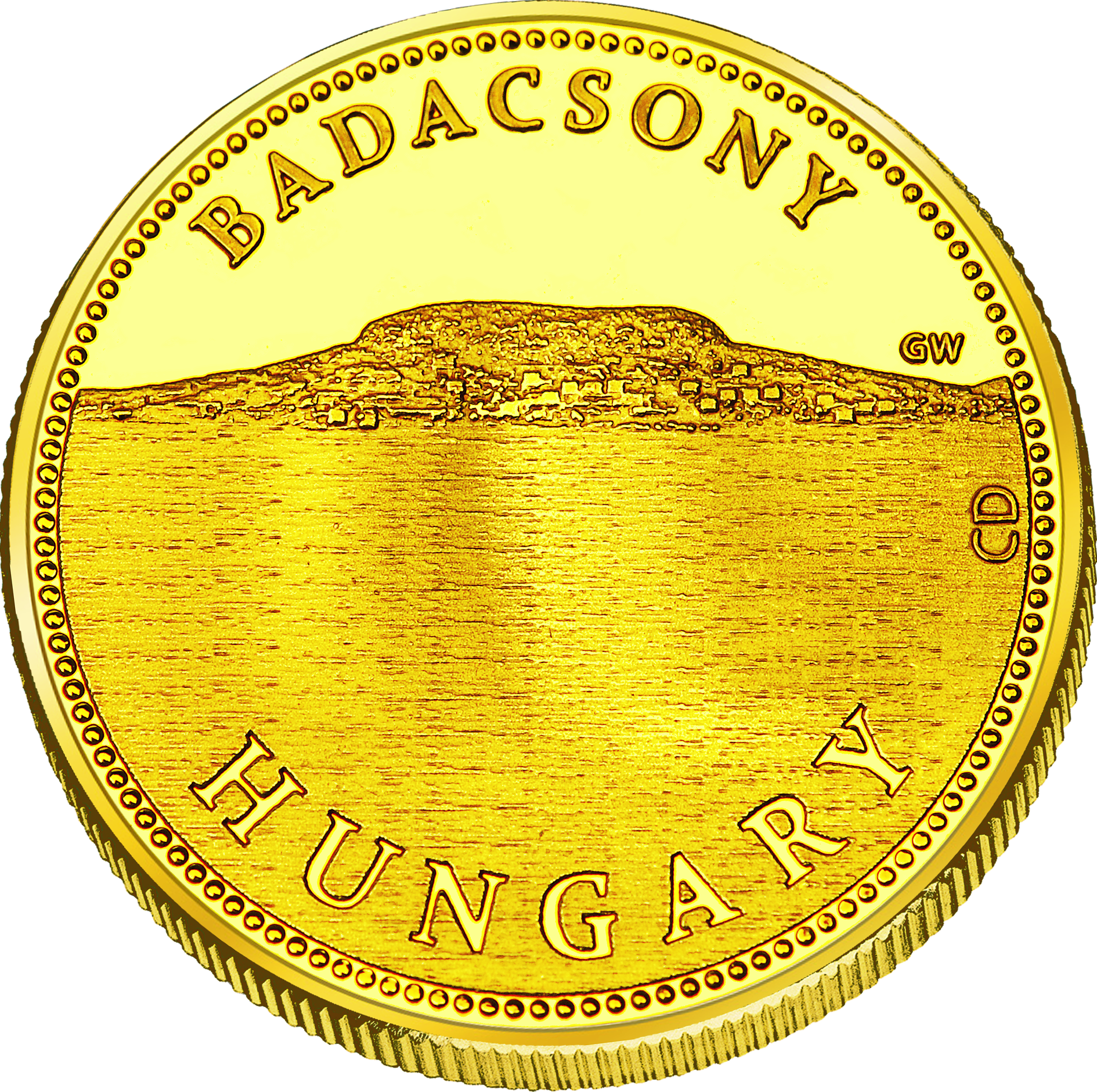Front side Badacsony Golden Hungary