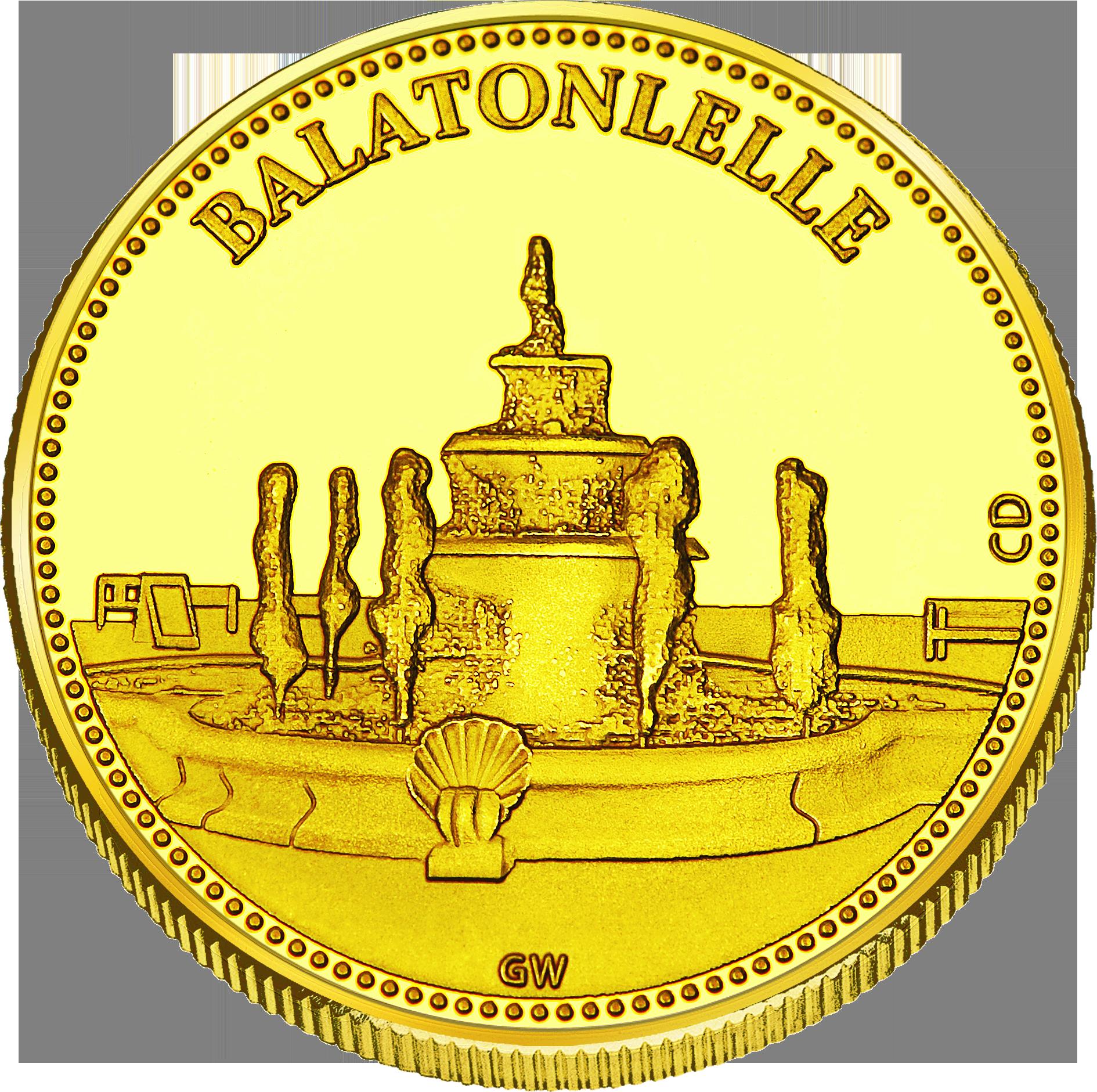 Front side Balatonlelle Golden Hungary