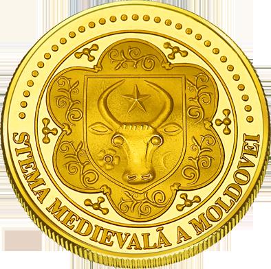 Front side Cetatea de Scaun a Sucevei Golden Romania