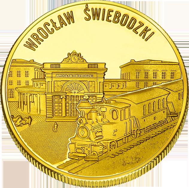Front side Kolejkowo Wrocław Złoty Dolny Śląsk
