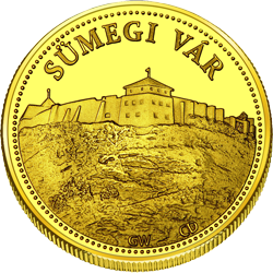Front side Sümegi Vár Golden Hungary