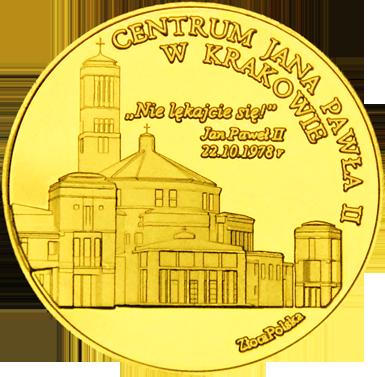 Front side Sanktuarium św. Jana Pawła II w Krakowie Złote Małopolskie