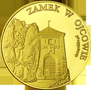 Front side Zamek w Ojcowie i Grota Łokietka Złote Małopolskie