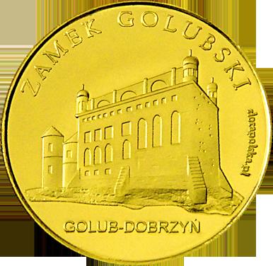 Front side Zamek Golubski w Golubiu-Dobrzyniu Złote Kujawsko - Pomorskie