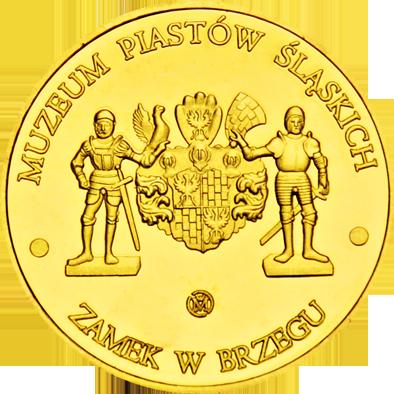 Front side Zamek Piastów Śląskich w Brzegu Złote Opolskie