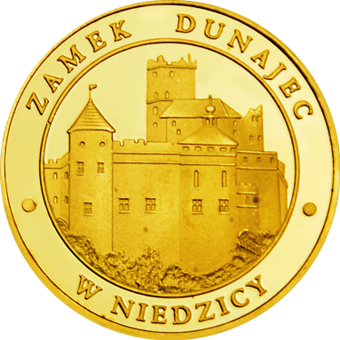 Front side Zamek Dunajec w Niedzicy Złote Małopolskie