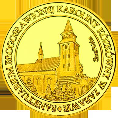 Front side Sanktuarium bł. Karoliny Kózkówny w Zabawie Złote Małopolskie