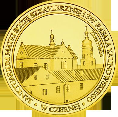 Front side Sanktuarium Matki Bożej Szkaplerznej w Czernej Złote Małopolskie